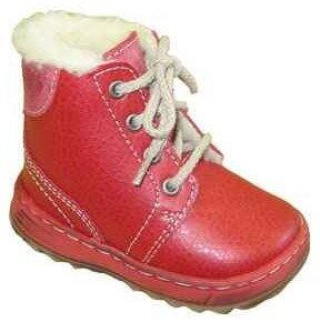 dětské zimní boty Pegres - červená ... 4f0fe180d3