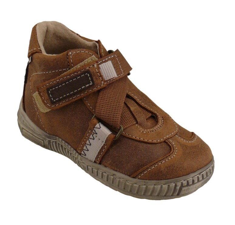Dětské kotníčkové boty Pegres 1403 - suchý zip vel. 27 - 34 db598af77d