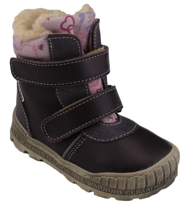 ... dětské boty Pegres 1702 - fialová c112a92286