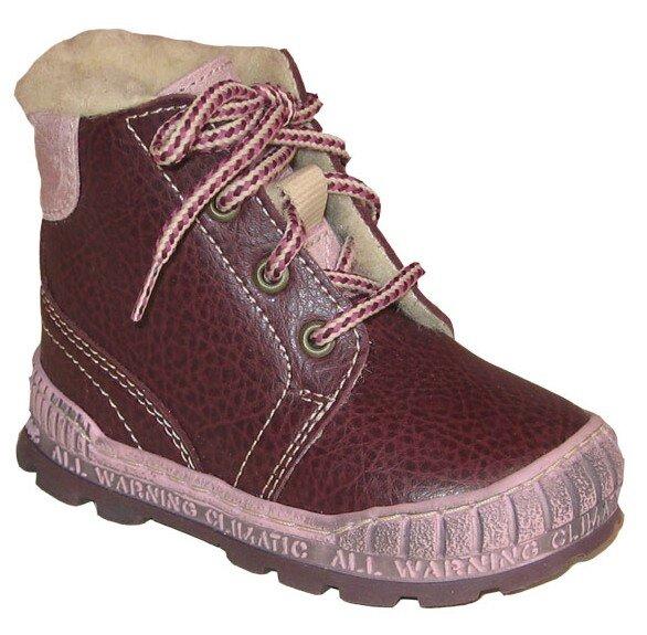 dětské zimní boty Pegres - šněrovací 1700 21b070983c