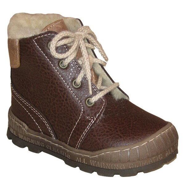 dětské zimní boty Pegres - hnědá ... ebc08be8a7