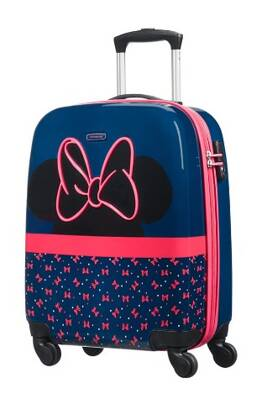 dětský kufr Samsonite Disney Ultimate 2.0 Minnie Neon spinner 55