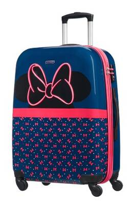 dětský kufr Samsonite Disney Ultimate 2.0 Minnie Neon spinner 65