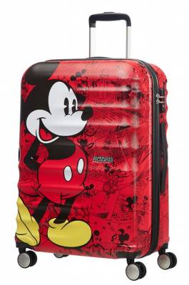 kufr American Tourister Wavebreaker Disney spinner 67 - Mickey comics